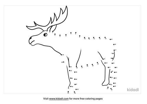 medium-moose-dot-to-dot