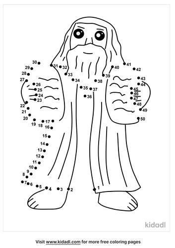 medium-moses-and-the-10-commandments-dot-to-dot