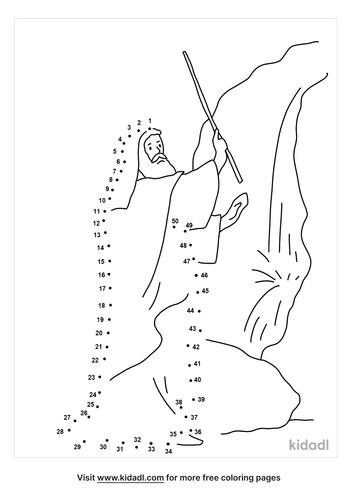 medium-moses-struck-rock-dot-to-dot