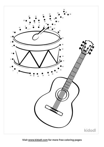 medium-musical-instrument-dot-to-dot
