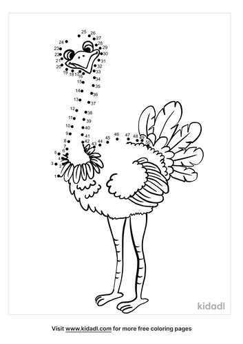 medium-ostrich-dot-to-dot