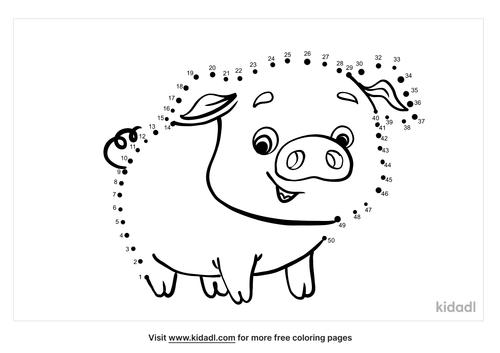 medium-pig-dot-to-dot