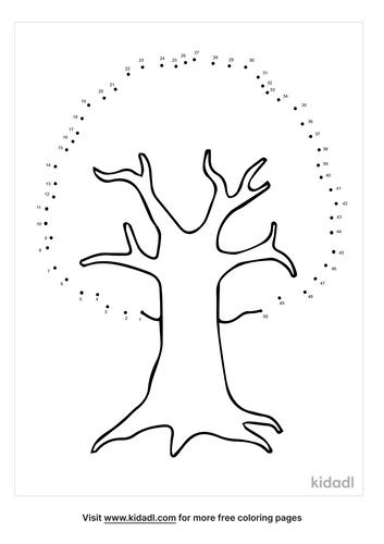 medium-plain-tree-dot-to-dot