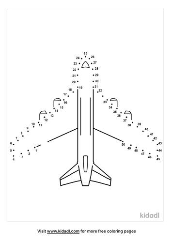 medium-plane-dot-to-dot