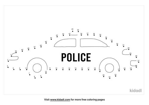 medium-police-car-dot-to-dot