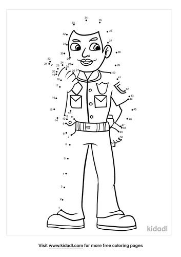 medium-police-officer-dot-to-dot
