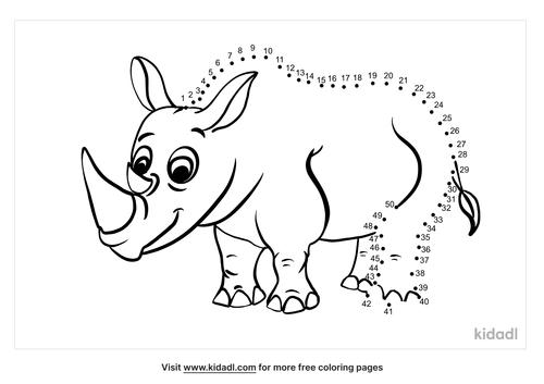 medium-rhino-dot-to-dot