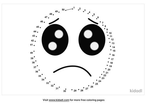 medium-sad-face-dot-to-dot