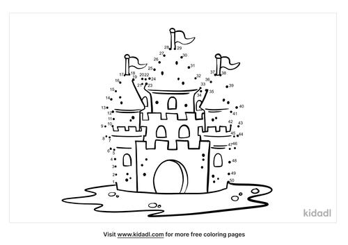 medium-sand-castle-dot-to-dot
