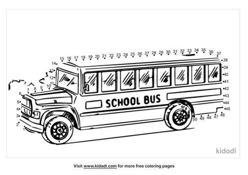 medium-school-bus-dot-to-dot