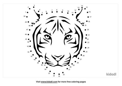 medium-tiger-face-dot-to-dot