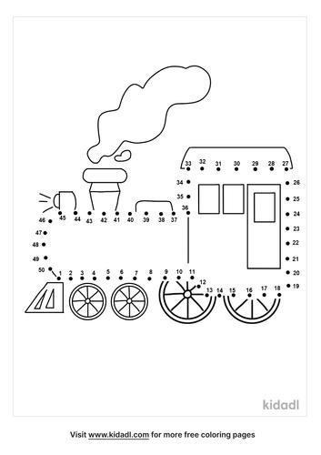 medium-train-dot-to-dot