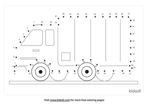 medium-truck-dot-to-dot