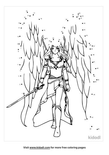 medium-warrior-angel-dot-to-dot
