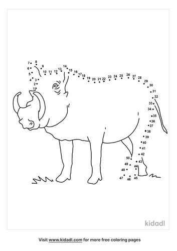 medium-warthog-dot-to-dot