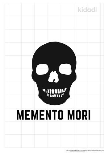 memento-mori-stencil