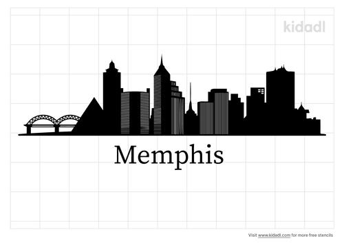 memphis-skyline-stencil