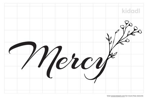 mercy-stencil