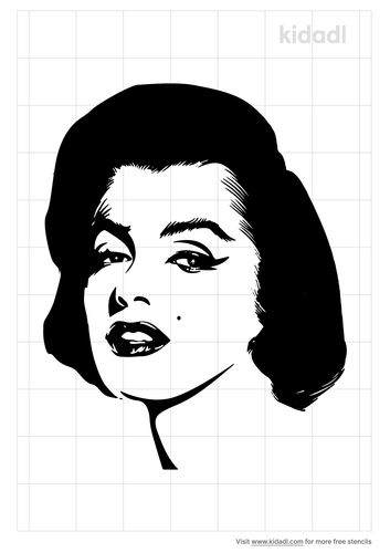 merilyn-monroe-stencil