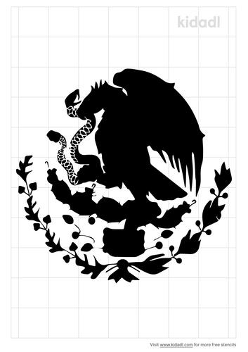 mexcian-flag-stencil