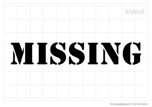 missing-stencil
