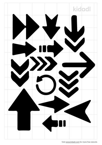 mixed-media-arrow-stencil