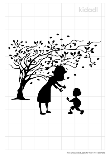 mom-and-children-outside-stencil.png