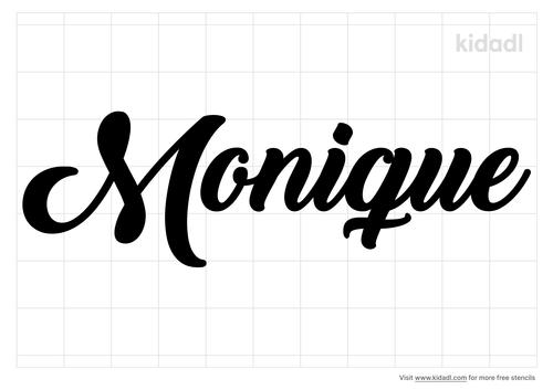monique-stencil
