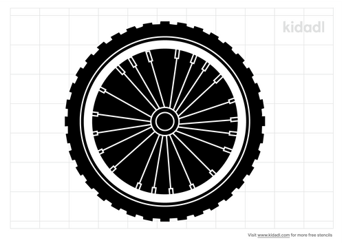 mountain-bike-tire-stencil