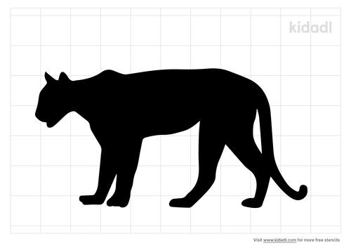 mountain-lion-stencil