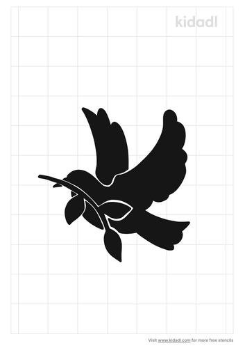 mourning-dove-stencil