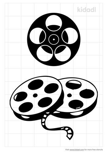 movie-reel-stencil