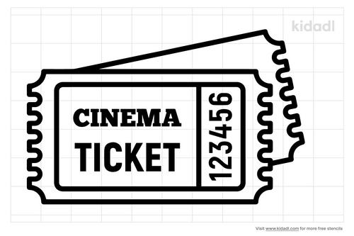 movie-ticket-stencils