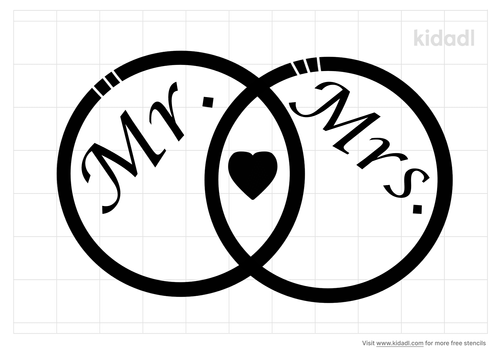 mr-and-mrs-ring-stencil