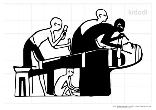 mummification-stencil