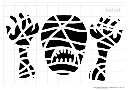 mummy-head-and-arms-stencil.png