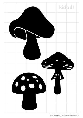 mushroom-stencil