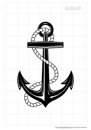 navy-symbol-tattoo-stencil