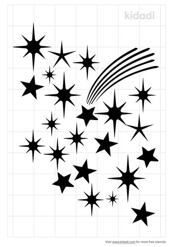 nebula-star-stencil