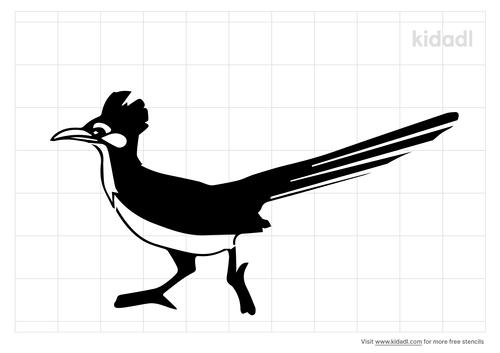 new-mexico-state-bird-stencil