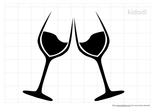 new-years-glasses-stencil