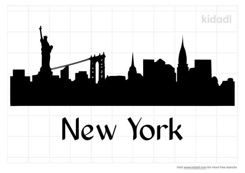 new-york-stencil