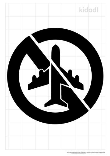 no-fly-zone-stencil