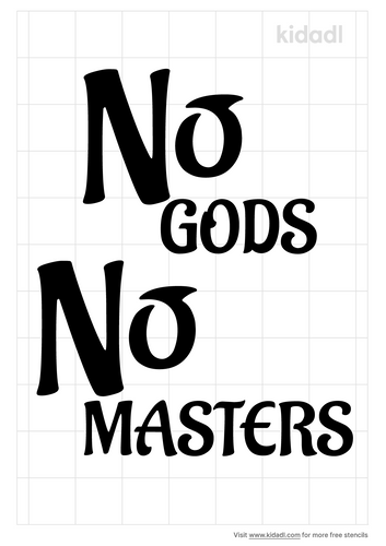 no-gods-no-masters-stencil