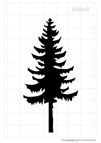 norway-pine-stencil