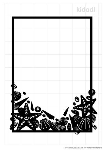 ocean-frame-stencil