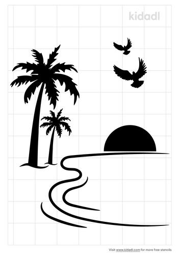 ocean-sea-stencil