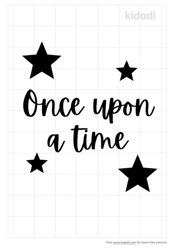 once-upon-a-time-stencil