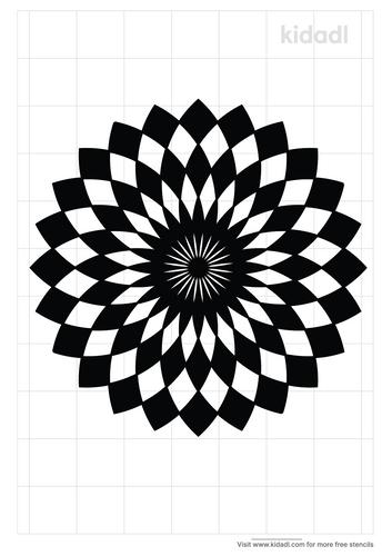 optical-illusion-stencil