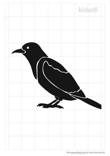 oriole-bird-stencil
